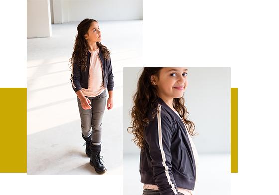Levv Girls amarante jacket