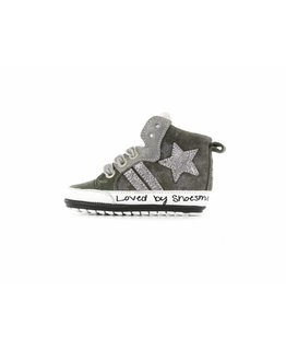 Shoesme Shoesme - babysneaker zilver