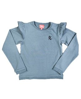 Little Miss Juliette Little Miss Juliette - Ruffle Long-Sleeve GRN