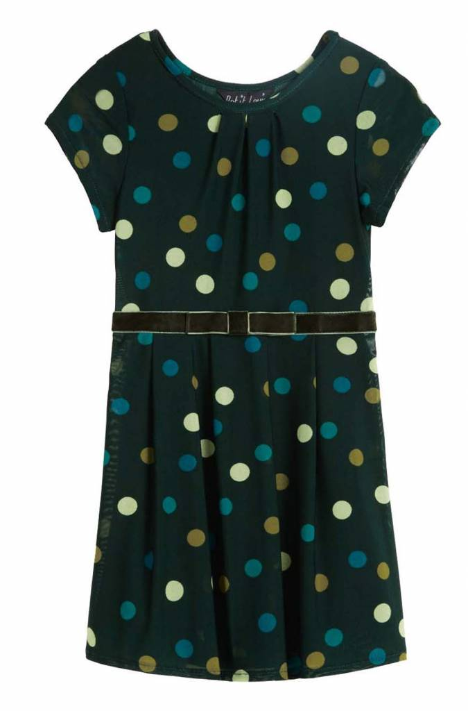 Petit Louie Bow Beld Dress Fettini