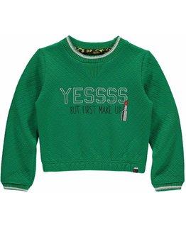 Quapi Quapi - LIEN Kelly Green Sweater