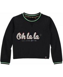 Quapi Quapi - LIES Dark Grey Sweater