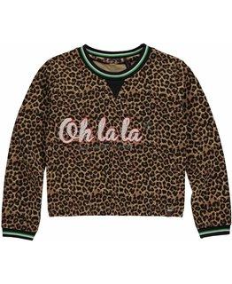 Quapi Quapi - LIES Leopard Sweater