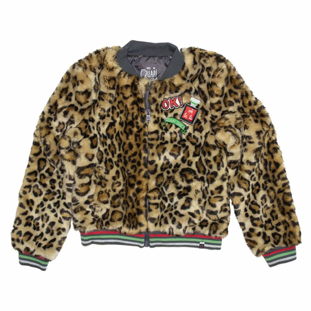Quapi LINDE Leopard Jacket
