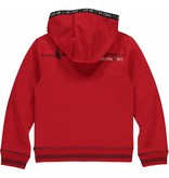 Quapi LEMAR Neon Red HOODED SWE