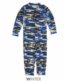 Claesen's Claesen's Boys pyjama Suit Blue Army