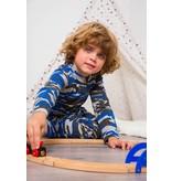 Claesen's Boys pyjama Suit Blue Army