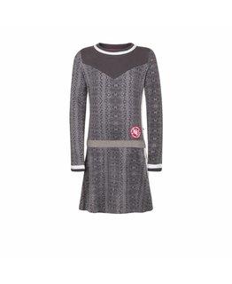 Ninni Vi Ninni Vi - Dress AOP 1 Light grey