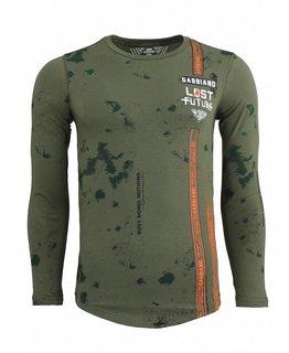 Gabbiano Gabbiano - Long T-shirt Army