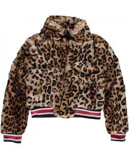 Levv Levv - ANNELIE Leopard Jacket