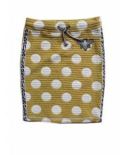 Topitm TOPitm - padded skirt Yari yellow dots