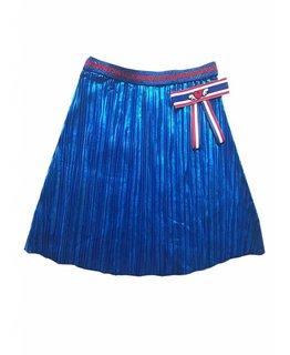 Topitm TOPitm - skirt Cathy plisee cobalt