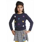 Topitm sweater Poms navy