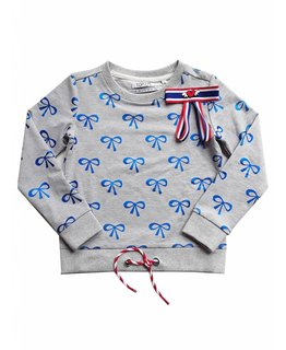 Topitm TOPitm - sweater Cybil grey melee AOP