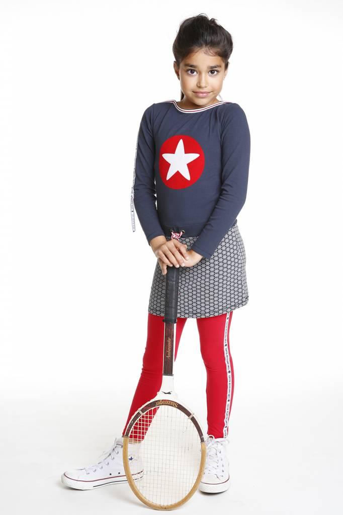 Topitm legging Kalla  red