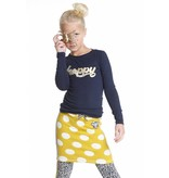Topitm padded skirt Yari yellow dots