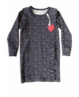 Topitm TOPitm - dress Cynthia dots dark blue