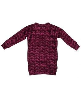 Snurk Snurk - Twirre Burgundy Rood Dress