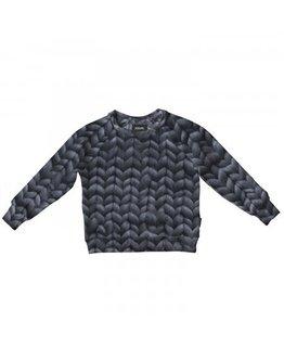 Snurk Snurk - Twirre Steel Grey Pyjama Sweater