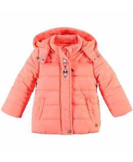Babyface Babyface - Baby girls jacket Neon Coral