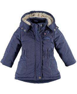Babyface Babyface - Baby girls jacket Steel Blue