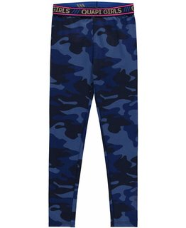 Quapi Quapi - LAVINIA 3 Dark Blue Camouflage LEGGING