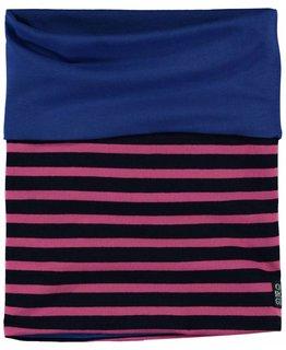 Quapi Quapi - LEA 3 Dark Blue Stripe SCARF