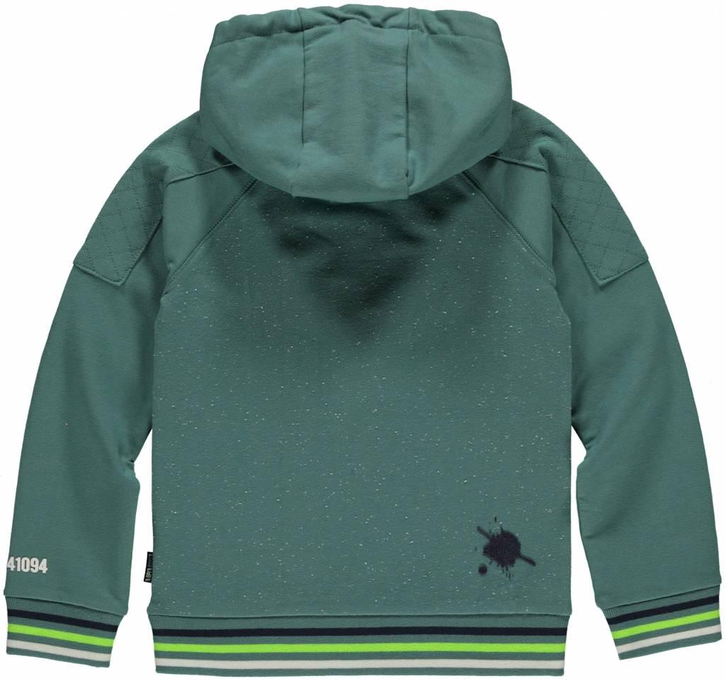 Quapi LIAM Vintage Green HOODED SWE