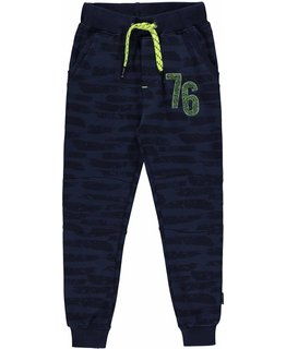 Quapi Quapi LUIGI Navy Paint SWEAT PANT