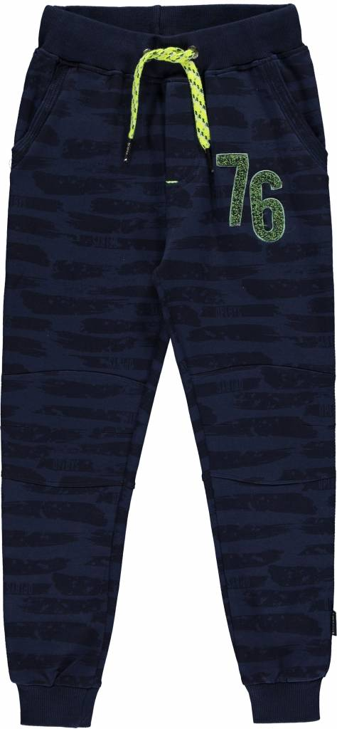 Quapi LUIGI Navy Paint SWEAT PANT