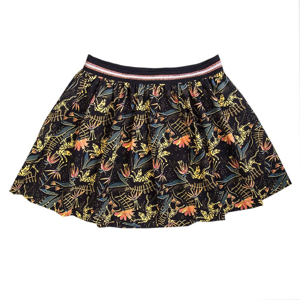Little Miss Juliette Skirt print BLK