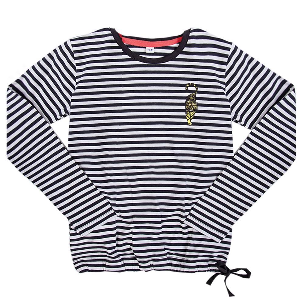 Little Miss Juliette Long sleeve stripe STP