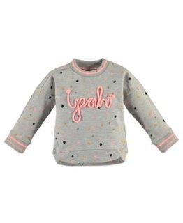 Babyface Babyface Girls sweatshirt Light Grey Melange