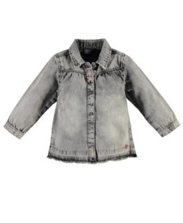 Babyface Babyface Girls blouse l.sl. Grey Denim
