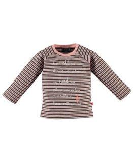 Babyface Babyface Girls t-shirt l.sl. Salmon Pink