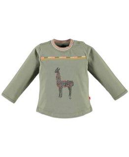Babyface Babyface Girls t-shirt l.sl. Army Green