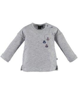 Babyface Babyface Girls t-shirt l.sl. Steel Blue