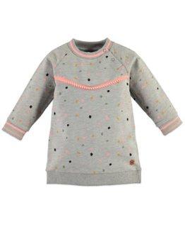 Babyface Babyface Girls sweat dress Light Grey Melange