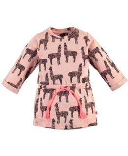 Babyface Babyface Girls dress Salmon Pink