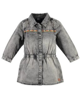 Babyface Babyface Girls denim dress Grey Denim