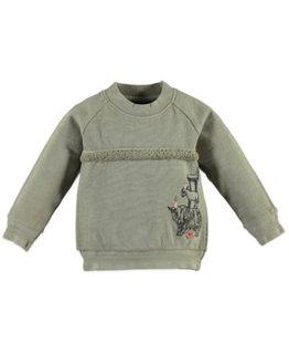 Babyface Babyface Girls sweatshirt Army Green