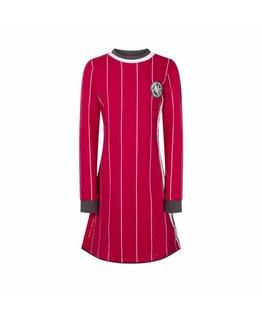 Ninni Vi Ninni Vi Dress AOP 6 Dark Pink