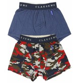 Claesen's Boxer 2 pack Red Army CL186208