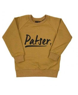 KMDB KMDB Sweater Patser Oker