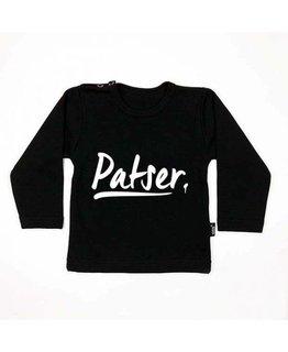 KMDB KMDB T-shirt Patser Zwart Wit