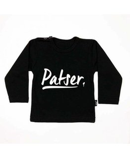 KMDB T-shirt Patser Zwart Wit