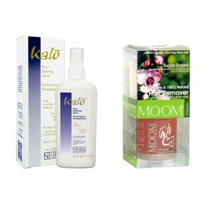 Kalo Spray tegen ongewenste haargroei - Body Kit