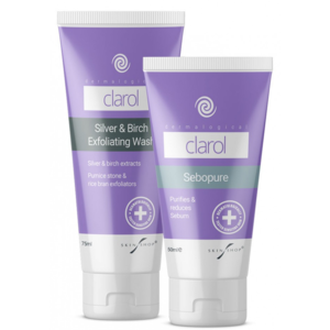 Clarol Sebopure + Exfoliating Wash Duo Care Pack