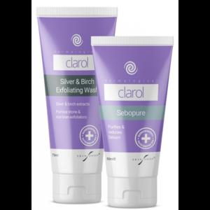 Skin Shop Clarol Sebopure + Exfoliating Wash Duo Care Pack