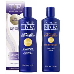 Nisim Shampoo sulfaatvrij normaal tot droog + Nisim Finishing Rinse Conditioner sulfaatvrij